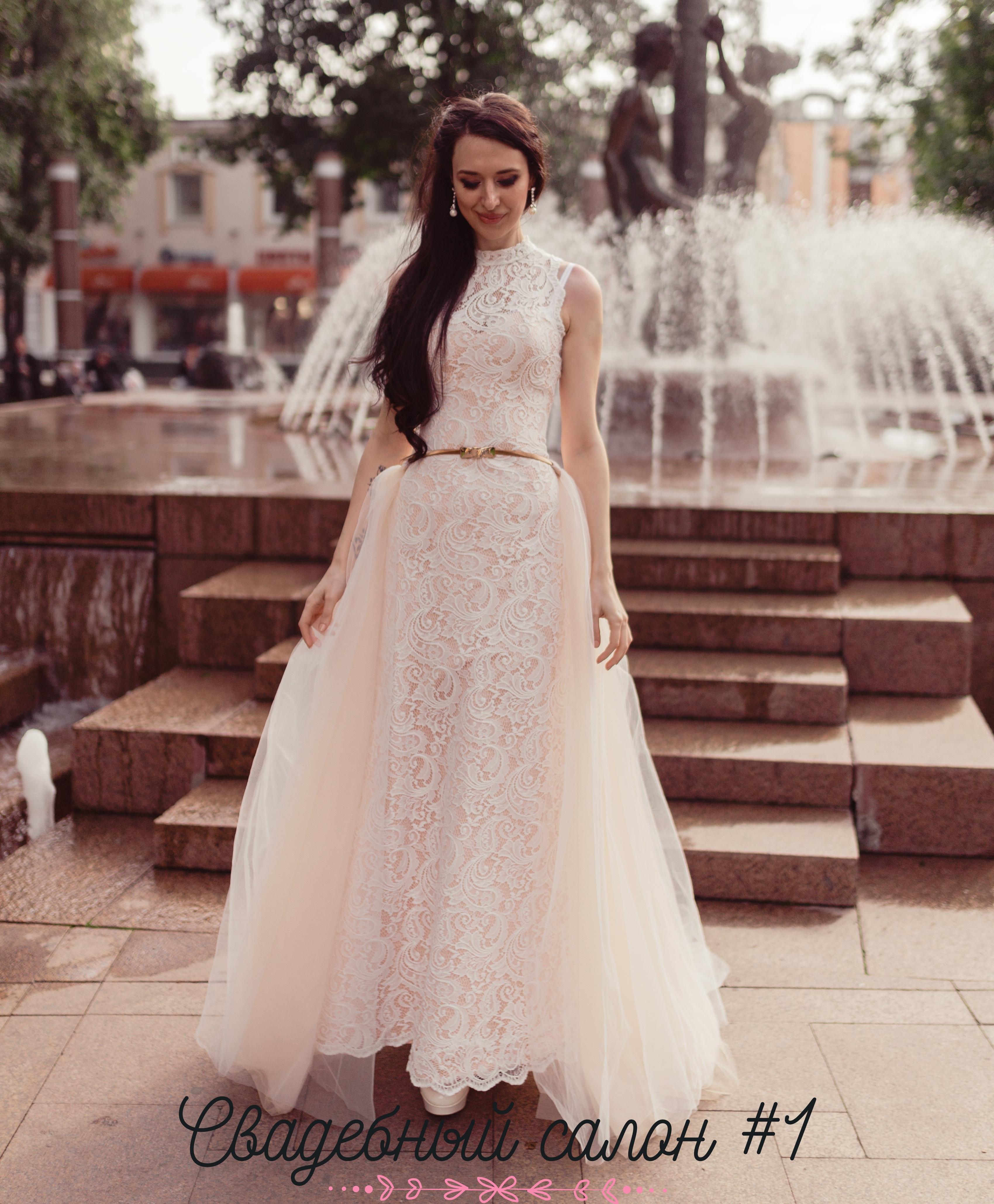 свадебное платье марина